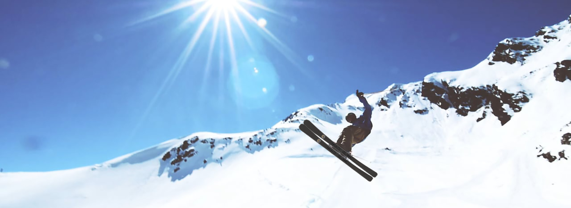 Backgroud skier Skipastory Ski Materiaal Speciaalzaak