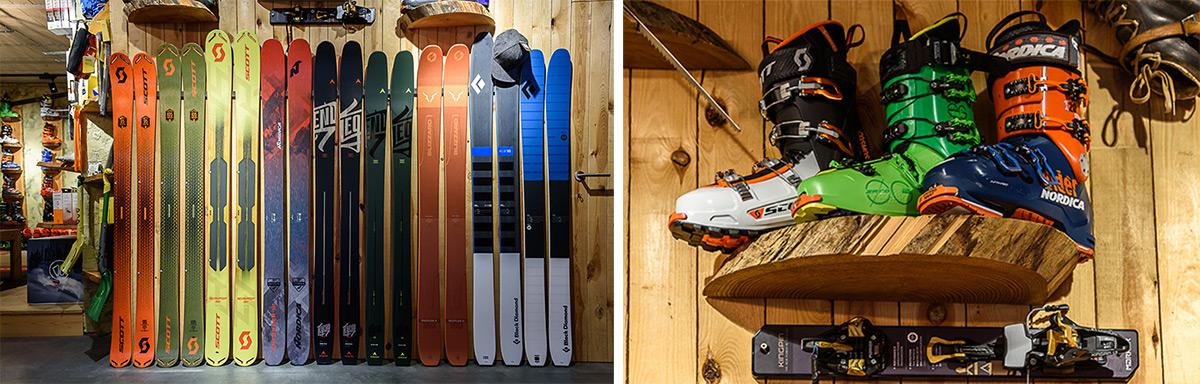 Freeride skipastory ski